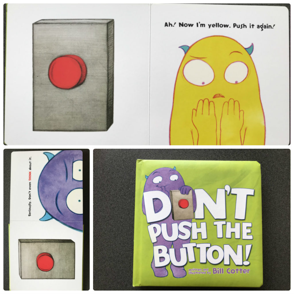 DON't PUSH THE BUTTONの絵本紹介