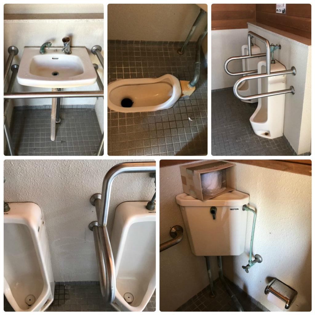 大久野島のトイレは比較的綺麗!