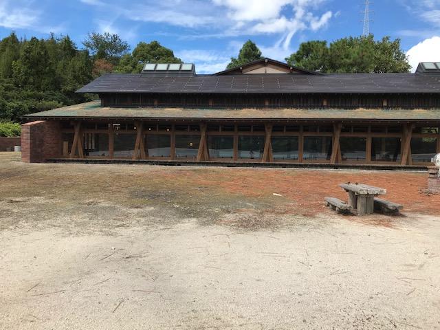大久野島のビジターセンター